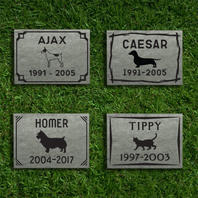 All Small Slate Tile Memorials