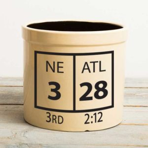 Super Bowl LI 2-gallon crock
