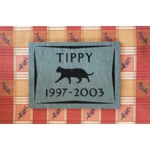 small slate tile Tippy, full design