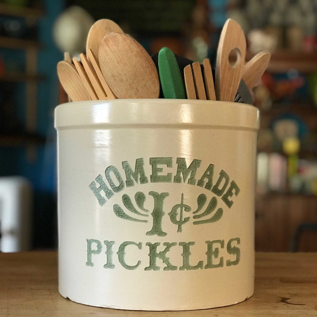 "Monica's Grandma's Antique Pickle Crock from ""Friends"""